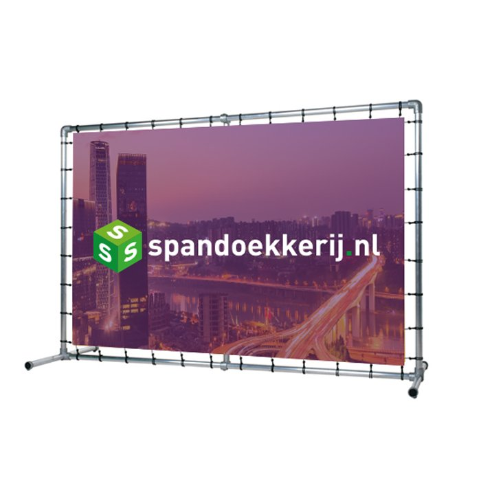 Incl. spandoek en spinhaken